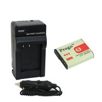 Type G Battery+Charger For SONY Cybershot DSC NP-BG1