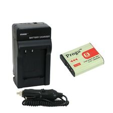 Battery + Charger Combo Kit For Sony NP-BG1 DSC-HX30V HX20V HX10V H90 HX9V HX7V