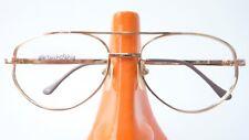Glasses Frames Frame Metal Trim Gold Men's Doppelsteg Frame Glasses Size M