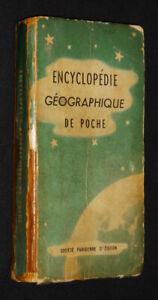 Encyclopédie Geographical de Poche