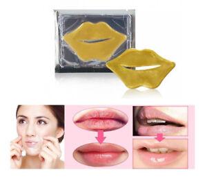 Lip Mask Gold Collagen Bio Pad Patch Moisturising Anti-Ageing