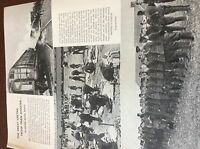 m8-8 ephemera 1938 ww1 picture gretna troop train disaster 1 page