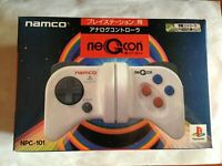 Negcon White Controller Pad with box Playstation PS Japan Ver Play Station