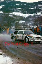 Henri Toivonen Martini Lancia Delta S4 Monte Carlo Rally 1986 Photograph 5