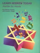 Learn Hebrew Today: Alef-Bet for Adults [English and Hebrew Edition]