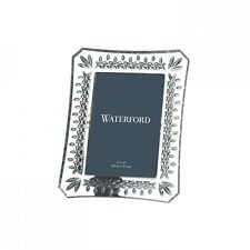 "WATERFORD Crystal Lismore 4X6"" Frame New # 108049 Hand Signed"