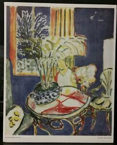 Henri Matisse  1947 Blue Interior Art-Print (286B)