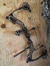 "Mathews Heli-m RH 30"" 70# w/Carbon Express arrows, QAD ULHD, HALO, Primos, Parts"