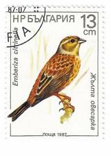 Bulgarie 1987 Briefmarken 1987 Singvögel Mi.Nr.3608 used