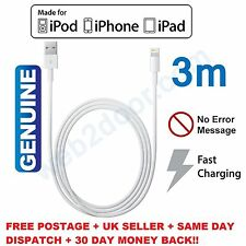 2x Sunydeal for Apple Certified Charger Sync Lightning Cable iPhone 6 Plus 5 SE