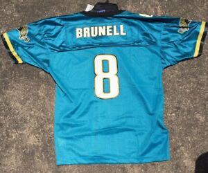 Boys XL NWT Champion Vintage NFL Jacksonville Jaguars Mark Brunell 8 Jersey VTG