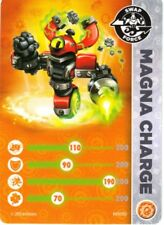 Magna Charge Skylanders Swap Force Stat Card Only!