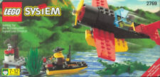 LEGO 2769 Town Airline Promotional Swamp Plane Dock Boat 2 minifigs NEW/SEALED