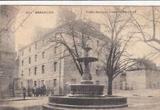 BESANCON 431 place marulaz caserne du génie timbrée 1906
