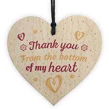 Thank You Gift For Teacher Midwife Nurse Assistant Friend Handmade Wooden Heart
