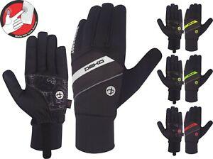 DEKO Full Finger Winter Cycling Gloves  Water resistant Wind Proof Touchscreen