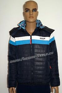 Bosco Sport RUSSIAN OLYMPIC TEAM SOCHI Herren Freizeit Jacke -7102- blau