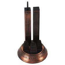 Bronze Metal World Trade Center 9/11 WTC Model Replica Die Cast Pencil Sharpener