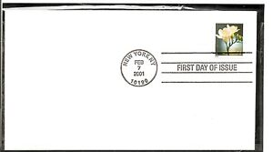 US SC # 3489 Flowers  FDC. Ready For Cachet.