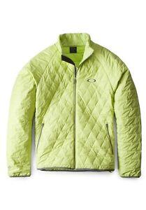 Men's Oakley Great Ascent Puff Lightweight Ski Snowboard Jacket Green Size S