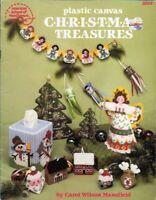 Christmas Treasures in Plastic Canvas ASN 3044 Angel Tree Ornaments Garland More