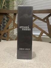 Armani Mania Men 3.4oz/100 Ml By Giorgio Armani Eau De Toilette Sp