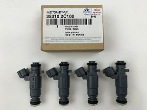 New Original Hyundai Engine Fuel Injectors Genesis Coupe 2.0LT 2010-2011-2012
