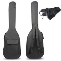 "40"" 41"" Acoustic Guitar Double Straps Padded Guitar Soft Bag Case Gig Backpack"