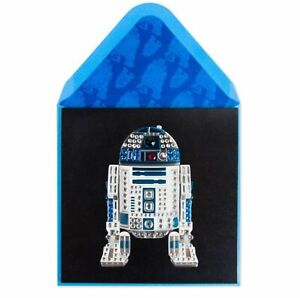 Papyrus Star Wars Disney R2D2 Happy Birthday Greeting Card (Amazing)