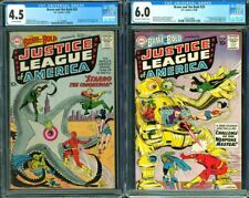 Brave and the Bold #28 & #29 CGC 4.5 6.0 1960 DC 1st Justice League! 121 cm set