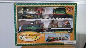 Density Santa's Christmas Special Battery-Operated Locomotive Train Set