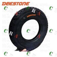 """GOMMA PNEUMATICO COPERTONE DEESTONE 4.50- 10 8 PR """"76L"""" APE CAR P2 MP 550 600 60"""
