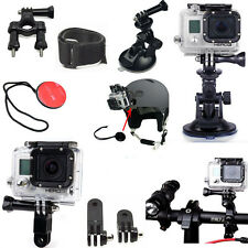 6 in1 Suction Cup Mount System Set Kit for Gopro Hero 4 3 2 1 Camera Acc New