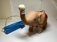 Ball-Blowing Circus Elephant With Remote - Fully Working 1960s Rare