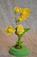"""ALICE IN WONDERLAND TALKING FLOWERS """"YELLOW SWEET PEAS"""" BY SUTHERLAND"""