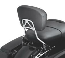 Detachable Passenger Backrest Pad Sissy Bar Fit Harley Davidson Touring 09-19