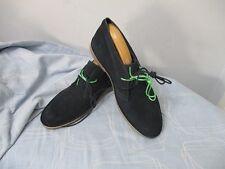 Botas para hombre seleccionado Homme Shlon Noos H Navy Blazer Shoes Size UK 8