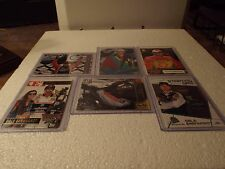 (6) Auto Racing Trading Cards of Dale Sr & Dale Jr. plus other Nascar drivers