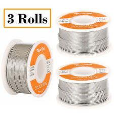 "60-40 Tin Lead Rosin Core Solder Wire Soldering Sn60 Pb40 Flux .031""/0.8mm 12oz"