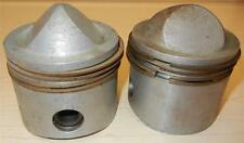 "1959 Matchless G12 650cc NOS 72mm +.060"" Italian Mondial #1438 PAIR pistons -120"