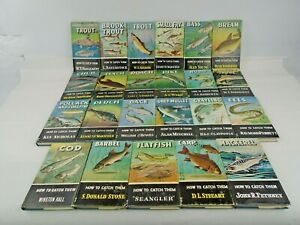 How To Catch Them Fishing Books Various Titles First Editions Hardbacks