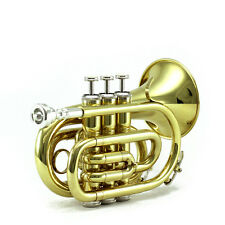 15% OFF FINAL SALE!Guarantee Quality Sound SKY Band Approved Pocket Trumpet
