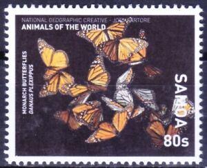 Samoa 2016 MNH, Monarch Butterflies, Butterflies, Insects