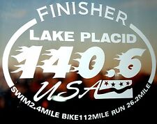 2017 Or Any year Ironman Lake Placid Triathlon Finisher Decal Sticker