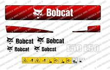 BOBCAT E50 MINI DIGGER DECAL STICKER SET
