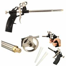 Pro PU Foam Gun NIB Expanding Spray Applicator New & Improved Adapter Basket