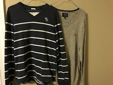 Abercrombie & Fitch and American Eagle mens sweaters Lot of 2 XL