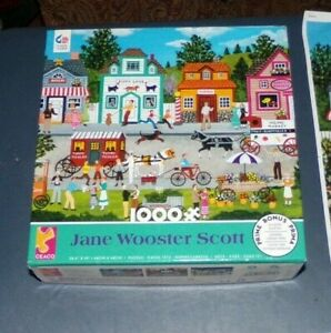 Ceaco 1000 Piece Jane Wooster Scott Jigsaw Puzzle COMPLETE Very Good Cond