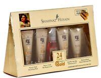 Shahnaz Husain 24 Carat Gold Facial Kit 40gm Hussain Anti Aging Youth Skin Glow@