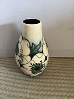 "Pretty Moorcroft ""Snowsong"" Pattern Vase - 117/5 5"" tall - Perfect Gift"